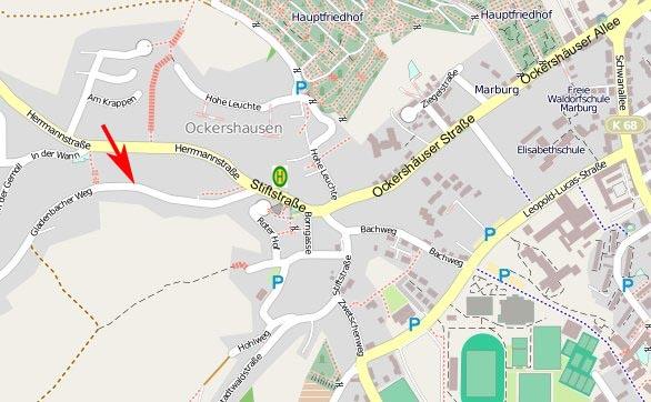 Gladenbacher Weg Karte Kopie